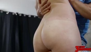 Sweet hot babe Sofie Carter wanted a huge cock